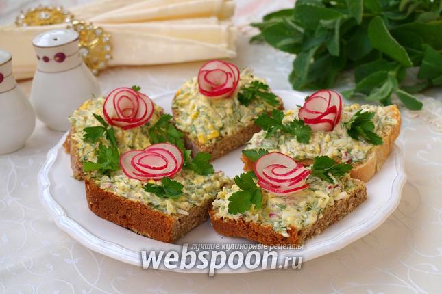 рецепты бутербродов с плавленным сыром в микроволновке