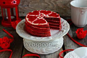 Блинный торт «Red Velvet»