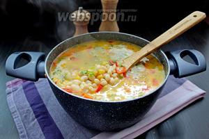 Наш суп суккоташ готов!