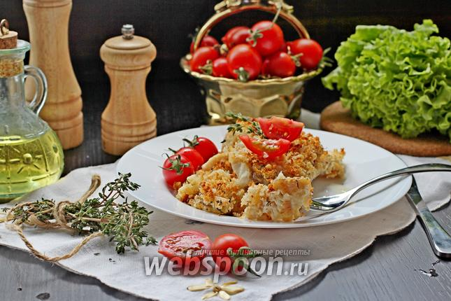 Фото Филе окуня под хлебной крошкой
