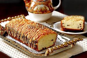 Кекс с шоколадными каплями «Золотой»