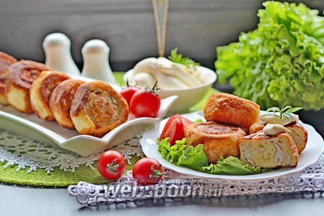 Фото Шанежки с мясом