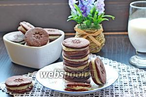 Печенье Орео видео рецепт
