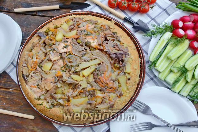 Фото Курица в тарелке
