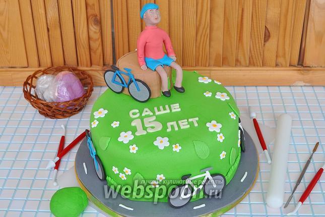 Фото Мастика медовая для тортов