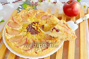 Дамб-кейк фруктовый