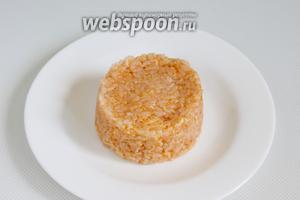 Рис готов к подаче.
