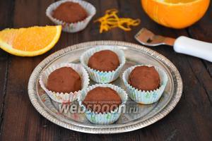 Шоколадные трюфели с кардамоном