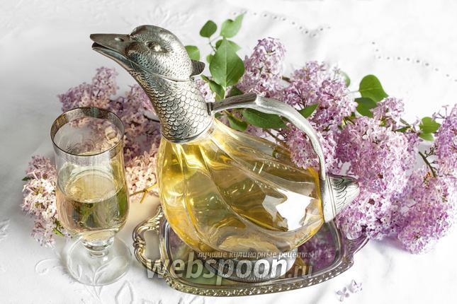 Фото Коктейль шампанское с вином «Холодная утка»