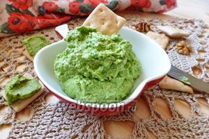 Дип из зелёного горошка