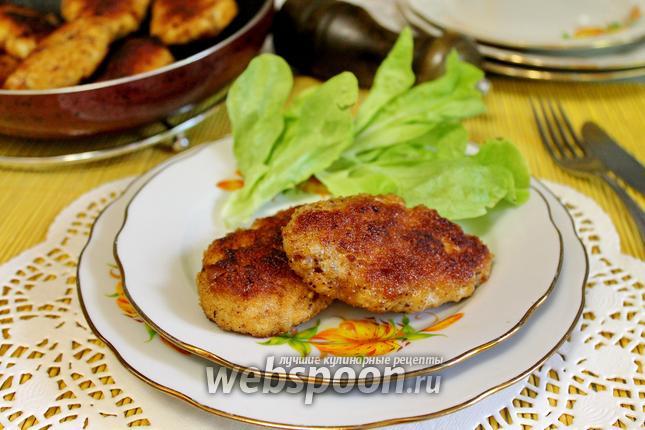 Рецепты котлет из курицы и свинины с фото