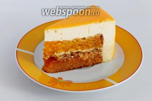А вот разрез торта «Беатрис»!