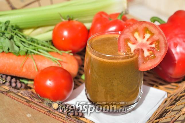 Фото Овощной сок
