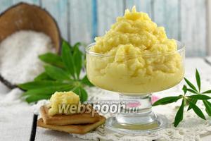 Заварной кокосовый крем