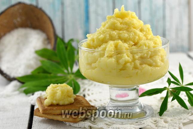 Фото Заварной кокосовый крем