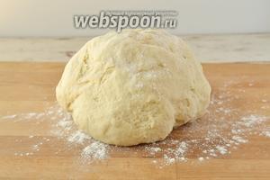 Через 15 минут тесто готово к лепке вареников.