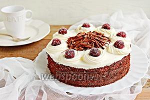 Шварцвальдский вишнёвый торт (Чёрный лес)