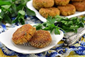 Котлеты из консервированной сардины с рисом