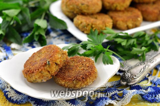 Фото Котлеты из консервированной сардины с рисом