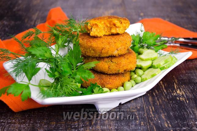 Фото Котлеты из тыквы с картофелем