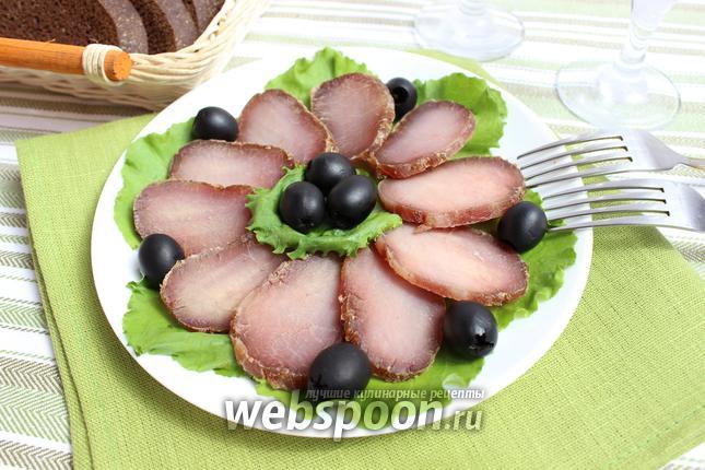 Фото Балык из свинины