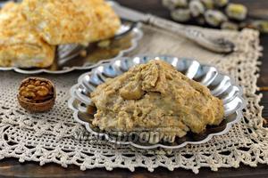 Заварной ореховый крем без масла