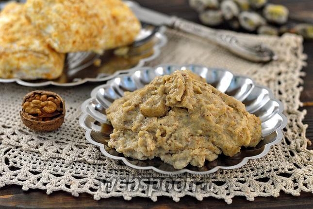 Фото Заварной ореховый крем без масла