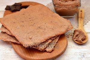 Белковые шоколадные коржи