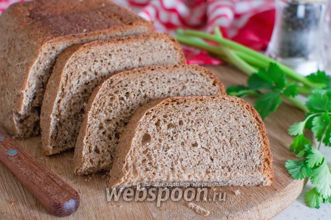 Фото Пшенично-ржаной хлеб с йогуртом в хлебопечке