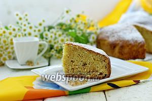 Пирог с белой смородиной