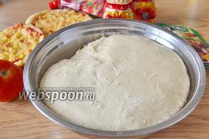 Тесто для пиццы в хлебопечке