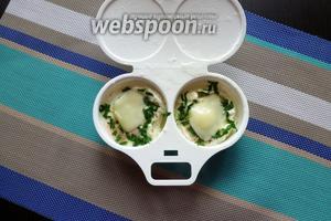 Яичница в микроволновке готова!