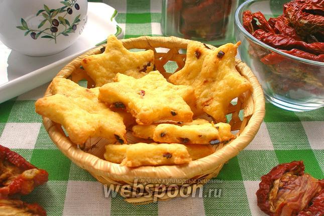 Фото Печенье сырно-томатное