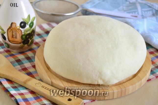 Фото Тесто для пирожков без яиц на оливковом масле