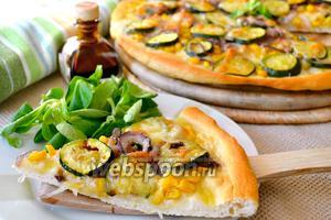 Летняя «белая» пицца