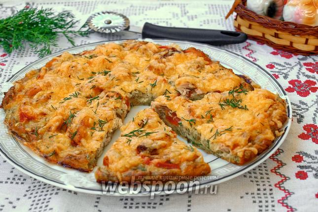 Пицца из кабачков в духовке