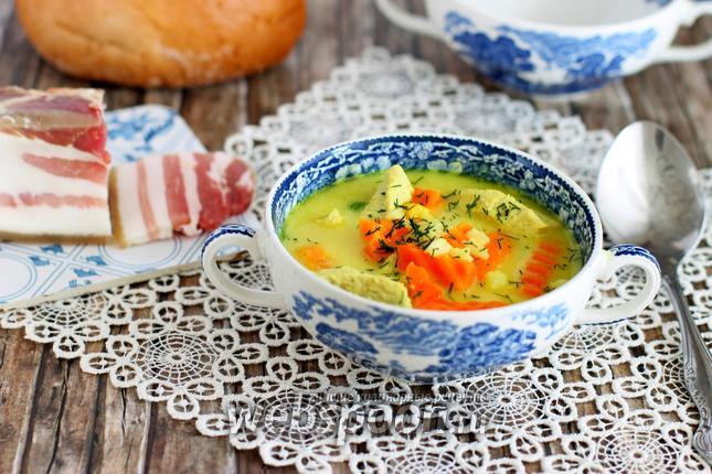 Фото Суп с карри по-польски