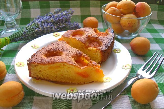 Фото Абрикосовый пирог