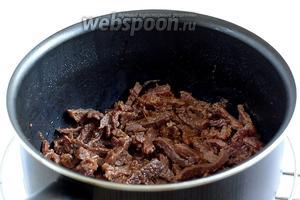 А мясо приобрести глянцевость и шелковистость. Можно посыпать говядину кунжутом.