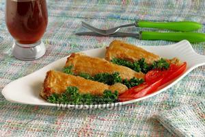 Рыба в вафлях «Рыбные хвостики»