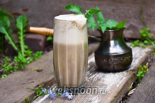 Фото Кофейный смузи с мятой
