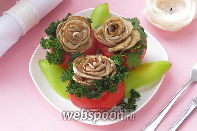 Фото Белые баклажаны «Розы»