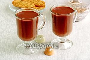 Горячий шоколад имбирный