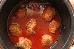 Через 50 минут открываем крышку — блюдо готово.