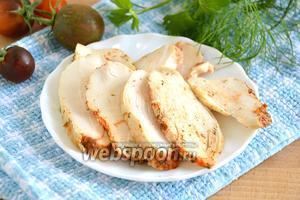 Куриная грудка деликатного приготовления