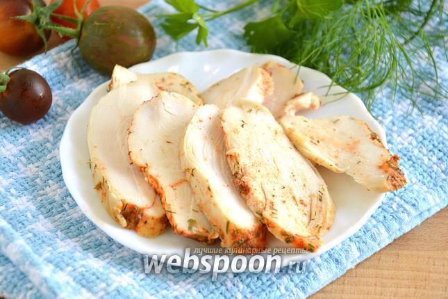 Фото Куриная грудка деликатного приготовления