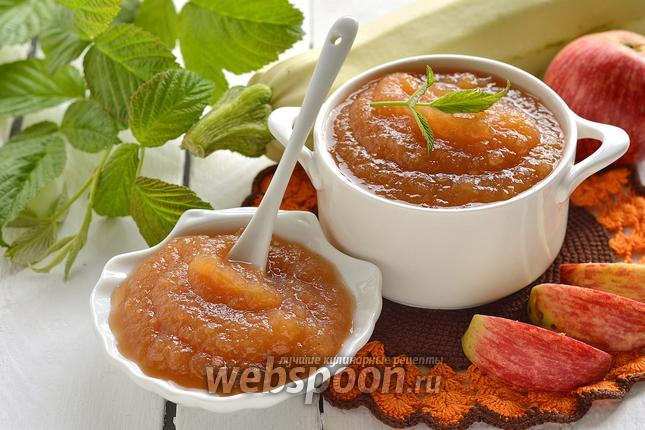 Фото Повидло ванильное из яблок и кабачков