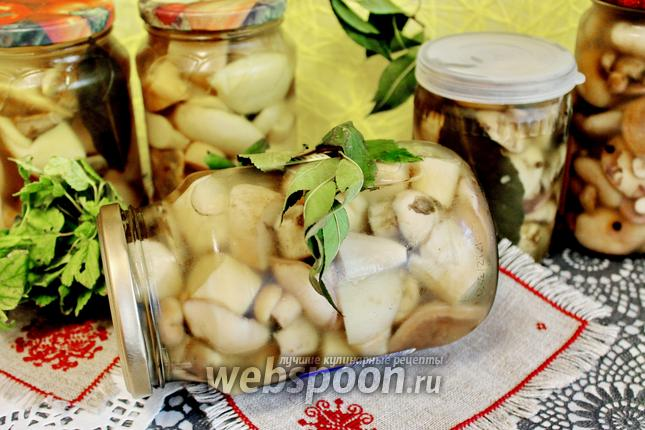 Фото Ассорти грибное на зиму