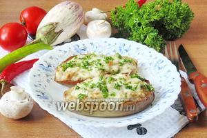 Белые баклажаны фаршированные курицей и грибами