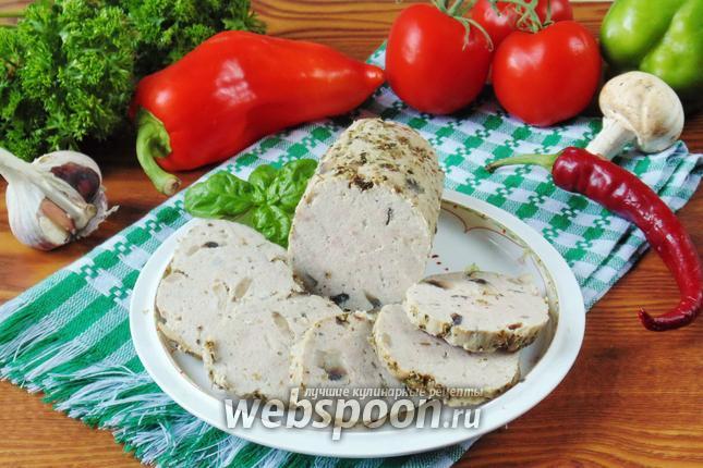 Фото Домашняя колбаса без кишок